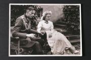 Liselotte Purper et son fiancé Kurt, lieutenant d'un régiment d'artillerie.