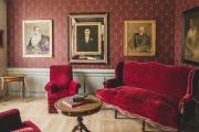 La plupart des meubles du musée«Villa du temps retrouvé», à Cabourg (Calvados), ont été prêtés par le Mobilier national.
