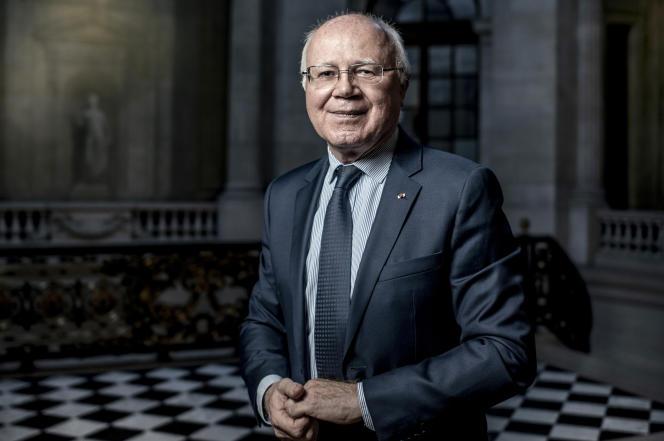 Bruno Lasserre, vice-président du Conseil d'Etat, dans son bureau, à Paris, le 5 février 2020.