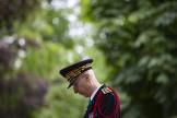 Le préfet de police de Paris, Didier Lallement, au ardin du Luxembourg, en mai 2020.
