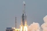 La fusée Longue-Marche 5B lancée le 29avril du centre spatial deWenchang, dans le sud de la Chine.
