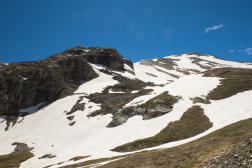 Glaciers du col du Galibier, en Savoie.