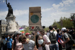 Marche pour le climat à Paris, le 9 mai 2021.