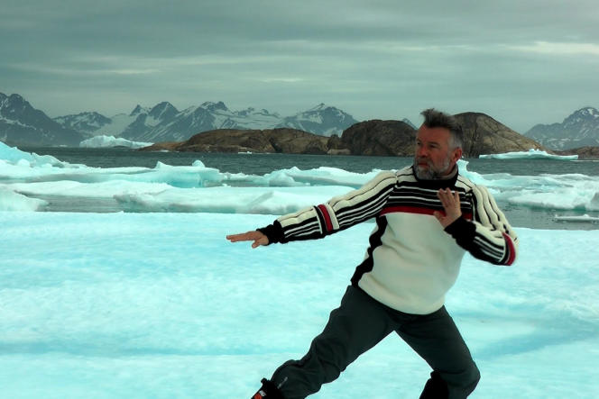 Daniel Larrieu dans « IceDream»(2010), réalisé par Christian Merlhiot et Daniel Larrieu.