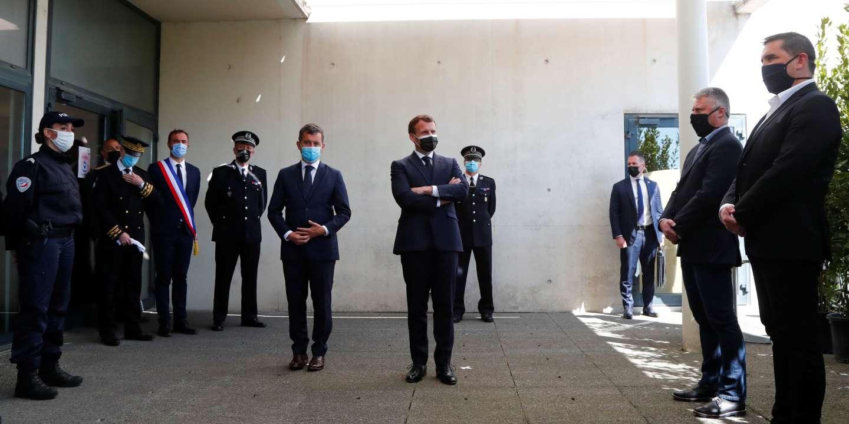 Sécurité : la conversion de Macron