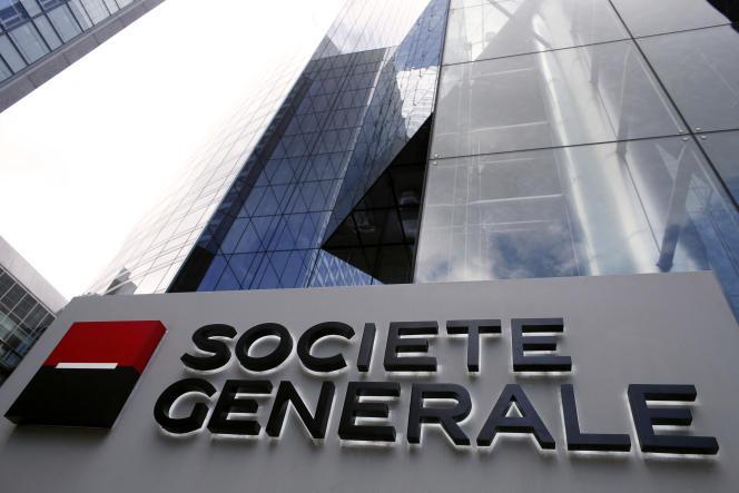 Le siège de la Société générale, dans le quartier des affaires de la Défense, près de Paris, en mai 2015.