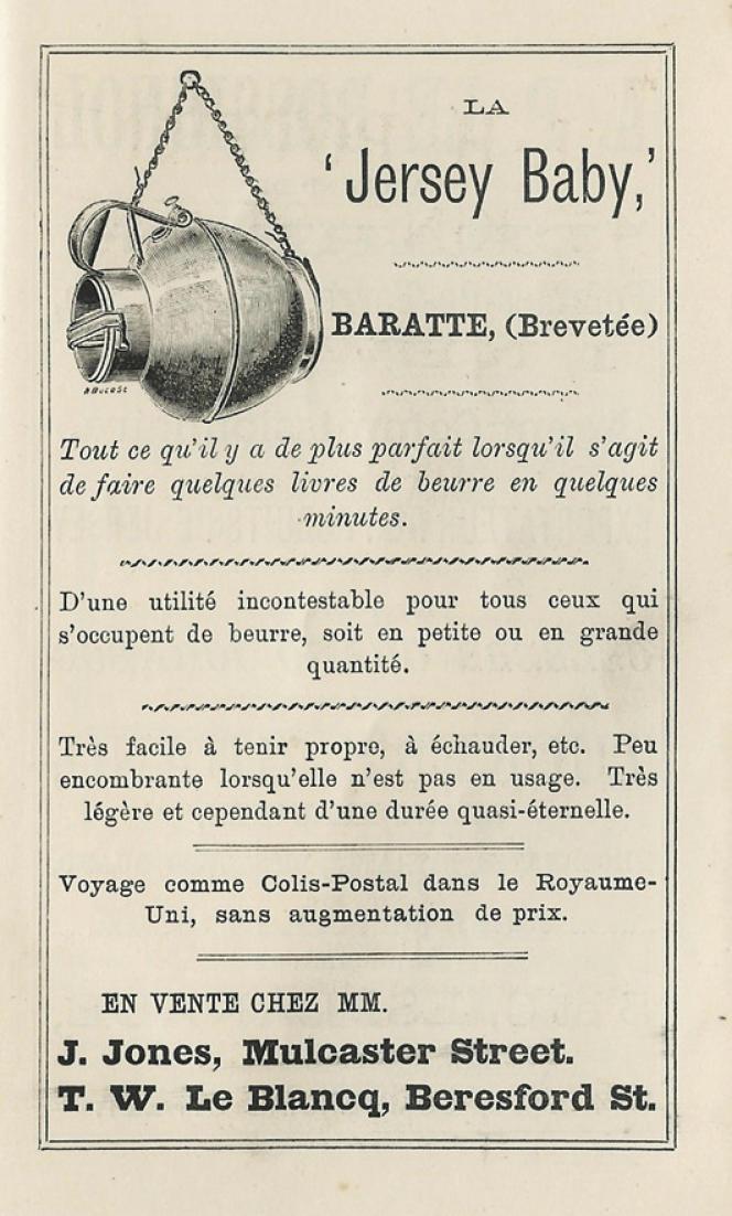 «Les Chroniques de Jersey», en1895.