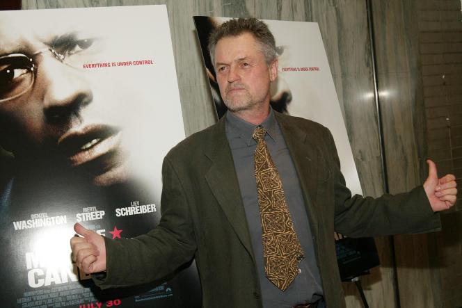 Le réalisateur Jonathan Demme à New York en juillet 2004 pour la première du film«The Manchurian Candidate».