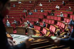 A l'Assemblée nationale à Paris, le 10 mai 2021.
