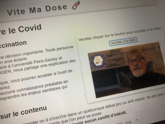Un site créé par une association anti-OGM tente de se faire passer pour un service de réservation de rendez-vous.