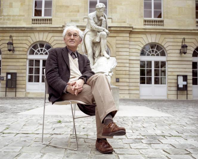 Le philosophe Jacques Bouveresse en juin 2006.