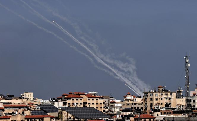Plus de mille roquettes ont été tirées de la bande de Gaza vers Israël.