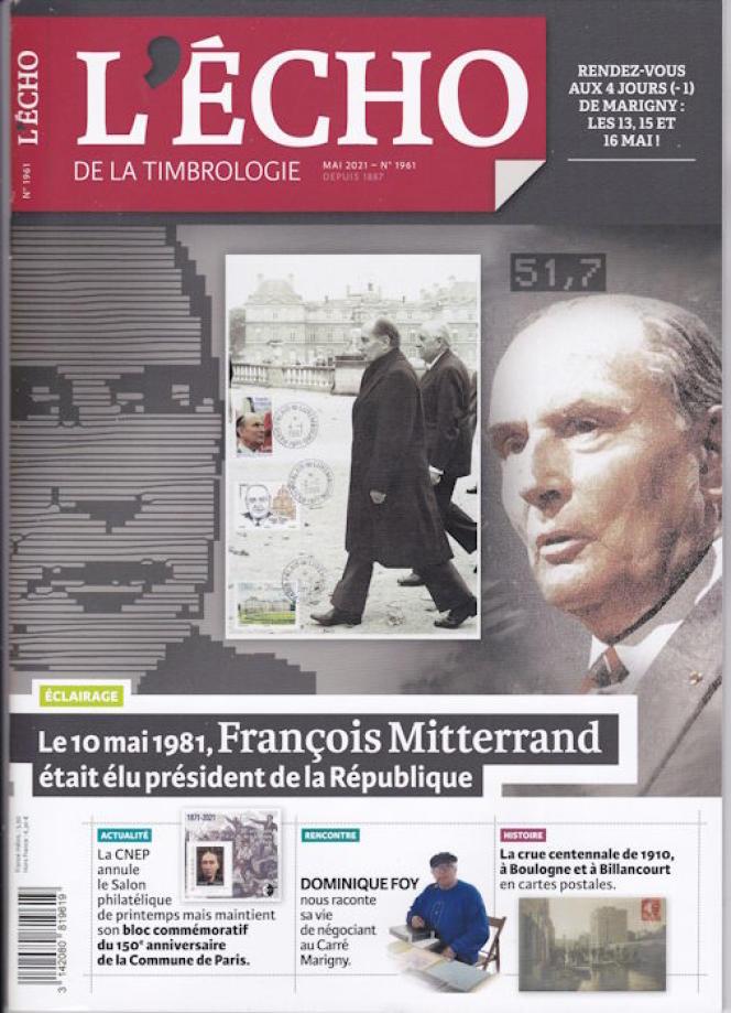 « L'Echo de la timbrologie », 76 pages, 5,50 euros. En vente par correspondance (2, rue de l'Etoile, CS 79013, 80094 Amiens Cedex 3. Tél. : 03-22-71-71-87.