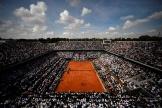 Lors d'une demi-finale deRoland-Garros, le 8 juin 2018, à Paris.