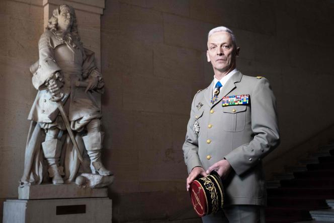 Le chef d'état-major des armées, le général François Lecointre, à Paris, le 27 avril.