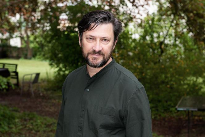Vincent Baudriller, le 5 mai 2021, à Lausanne (Suisse).
