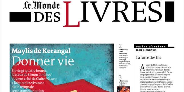 «Réparer les vivants», de Maylis de Kerangal: donner vie