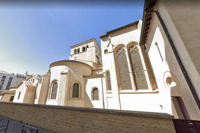 Labasilique d'Ainay à Lyon, capture d'écran le 12 mai 2021.