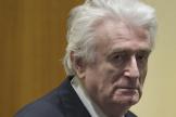 Radovan Karadzic, le 20 mars 2019, devant le TPIY, à La Haye.