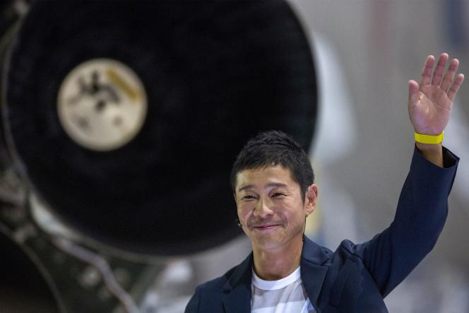 Le milliardaire japonais Yusaku Maezawa, a fatal success in commerce en ligne, September 2018