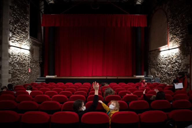 Dans un cinéma à Nantes, le 14 mars 2021.