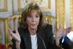 L'avocate Gisèle Halimi, le 14 novembre 2003 à Paris.