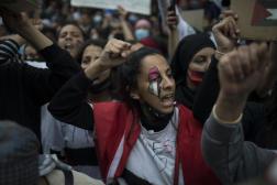 Manifestation en soutien aux Palestiniens à Marseille, le 15 mai 2021.