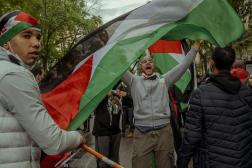 La manifestation pro-palestinienne, à Paris, le samedi 15 mai 2021, avait été interdite par arrêté préfectoral.