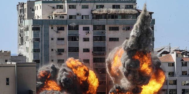 Indignation après la destruction par Israël d'un immeuble de Gaza abritant des médias internationaux