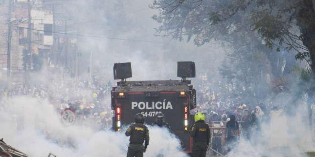 Dans le sud de la Colombie, les manifestations contre la répression policière tournent au chaos