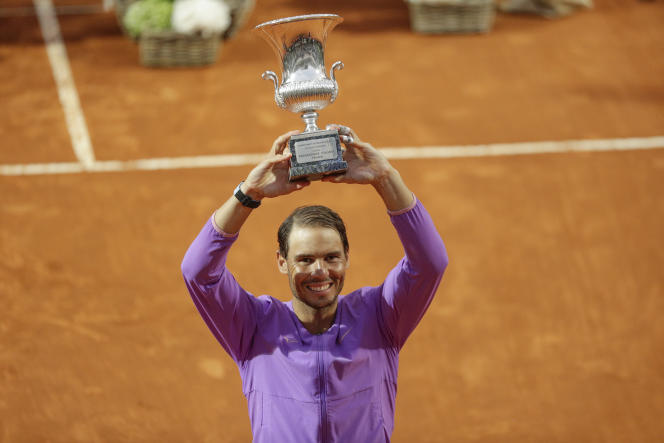 Tennis : Nadal domine Djokovic et remporte son dixième titre à Rome