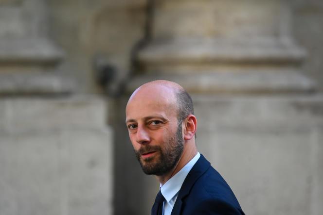 Stanislas Guerini, le 20 mai 2020 à l'Hôtel de Matignon.
