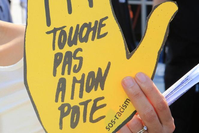 Manifestation organisée par SOS-Racisme, en 2014, à Paris.