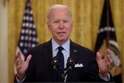 L'Administration de Joe Biden (ici le 7 mai) surpasse dans son ampleur l'épisode de la relance Rooseveltienne des années 30.
