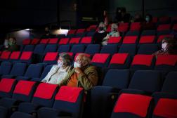 Fermés depuis le 30 octobre, les cinémas pourront rouvrir avec une jauge de 35 % et 800 spectateurs maximum.