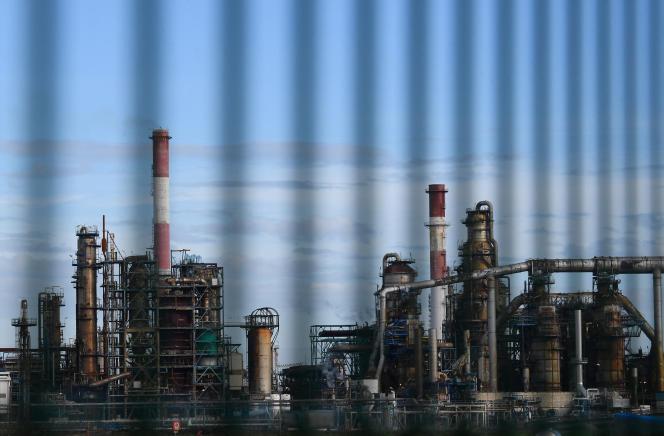 La raffinerie Total de Donges (Loire-Atlantique), en janvier 2020.