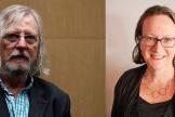 Didier Raoult et Elisabeth Bik.