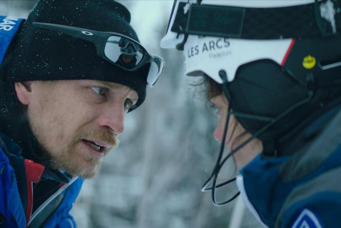 Fred (Jérémie Renier) et Lyz (Noée Abita) dans «Slalom», de Charlène Favier.