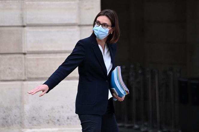 La ministre de la transformation et des services publics, Amélie de Montchalin, le 5 mai 2021, à Paris.