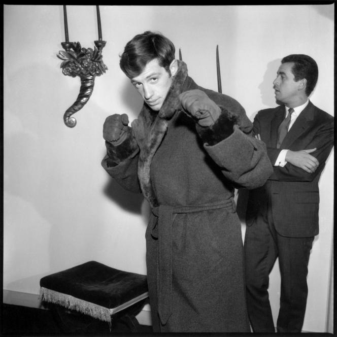 Jean-Paul Belmondo, en 1960.