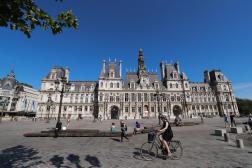 L'Hôtel de ville de Paris, en juin 2020.