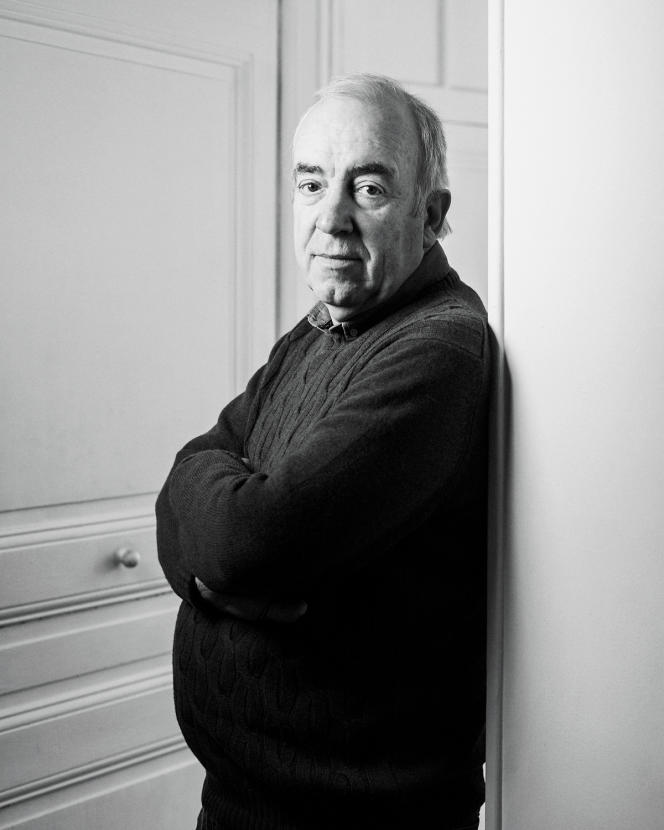 Alain Baraton, jardinier en chef du château de Versailles, le 13 mai 2021.