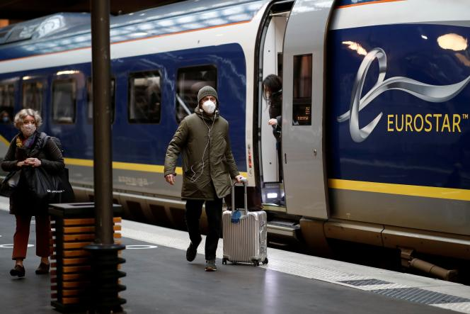 Le terminal Eurostar de la gare du Nord, à Paris, en 2020.