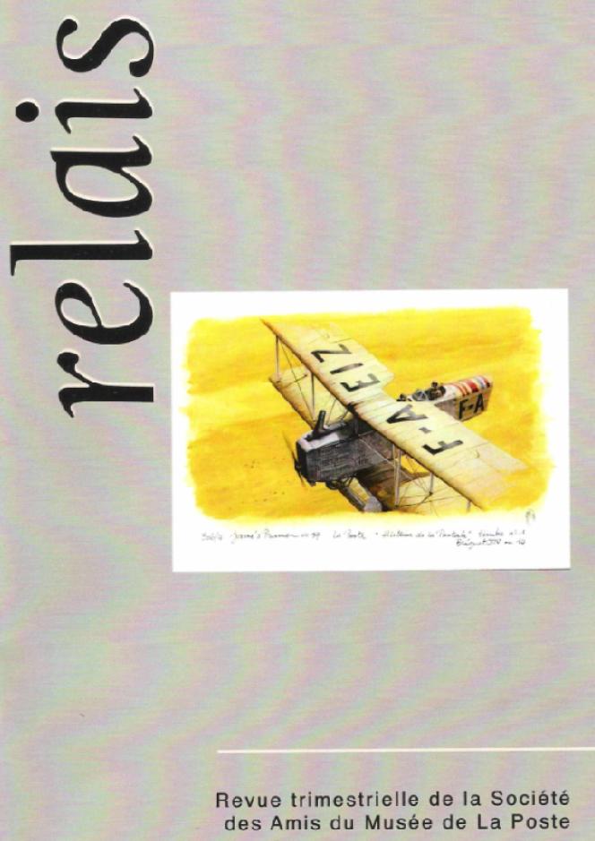 « Relais », revue trimestrielle de la Société des amis du Musée de La Poste (SAMP), n°148-12/2020, 52 pages. La cotisation à la SAMP comprend l'abonnement à la revue (40 euros par an) et l'entrée gratuite au Musée de La Poste (34, boulevard de Vaugirard, 75015 Paris).
