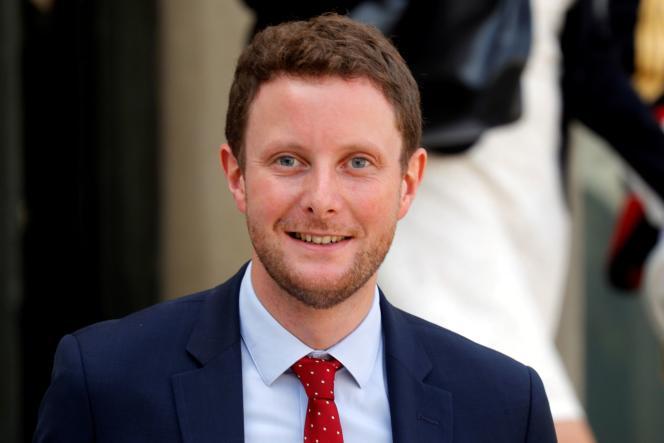 Clément Beaune, le secrétaire d'Etat chargé des affaires européennes, en 2017, à Paris.