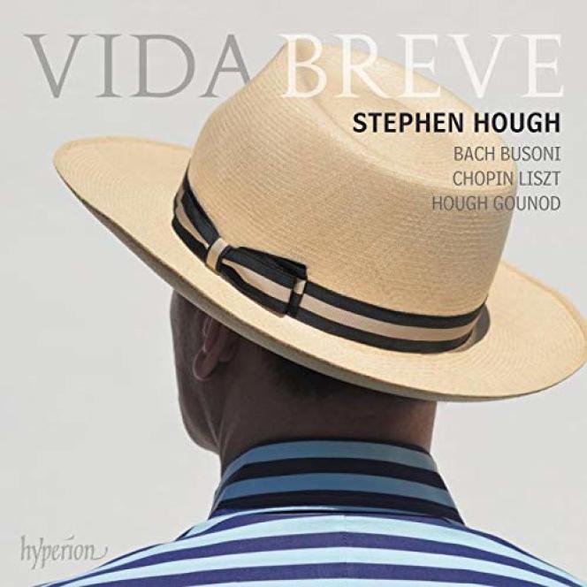 Pochette de l'album«Vida breve», de Stephen Hough.
