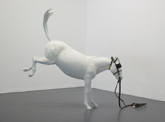 Adel Abdessemed, «Cheval de Turin», 2012.