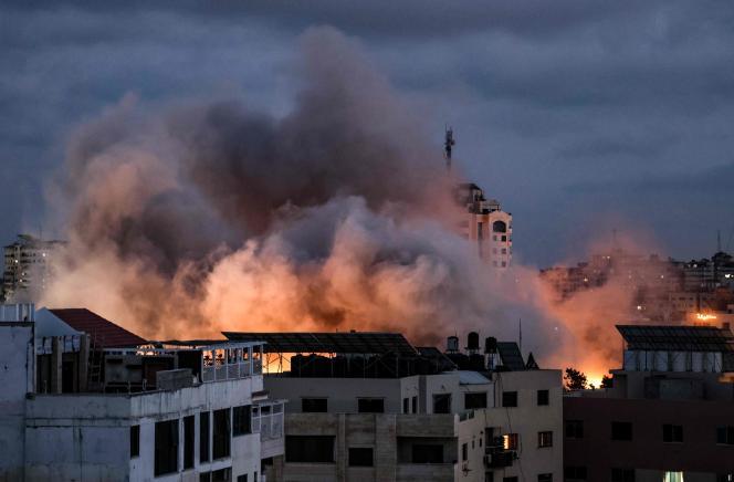 Pemogokan di Jalur Gaza, Kamis, 20 Mei 2021.