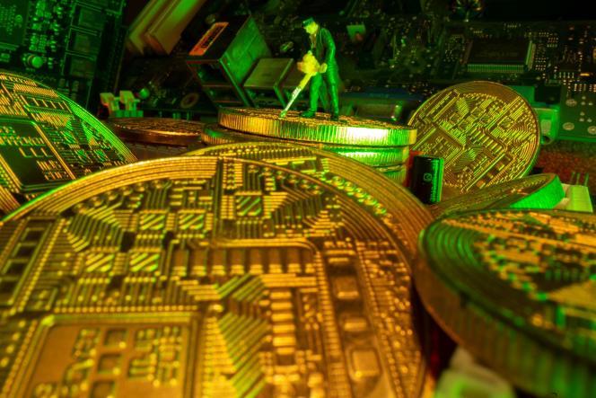 Le « minage » du bitcoin exige de faire fonctionner à plein régime de coûteuses puces électroniques.