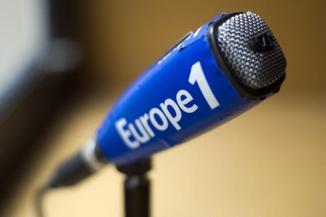 Au siège d'Europe 1, à Paris.